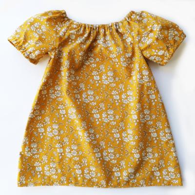 kjole i libertystof capel karry